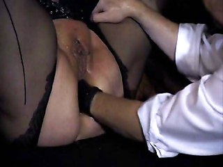 White Bbw - Ass Punchfisted - Multiple Orgasms
