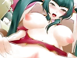 Horny Anime Slut Gets Pounded