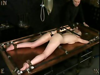 Enema Punishment On Enema Table