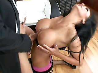 Busty Audrey Gets Fucked By Her Chauffeur