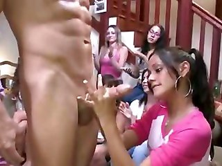 College Blowjob Party  3 Of 3
