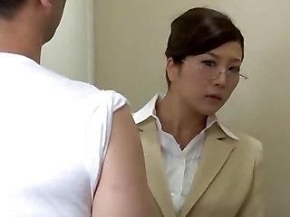Violated Female Teacher