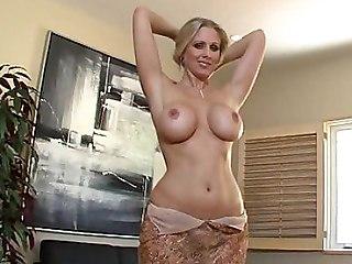 Busty Blonde Wife Julia Ann Sucking   Gets Facial