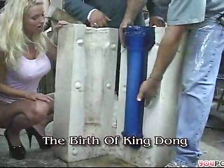 King Dong Tearing Slut Cunt