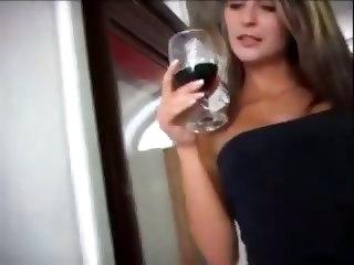 Pretty Woman Gangbanged By 3 Big Black Dicks