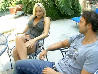 Titty Blonde Fucks With Her Bf